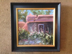 Taos artist, oil painting, new artist